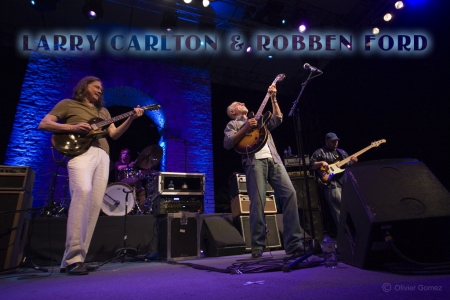 LARRY CARLTON & ROBBEN FORD