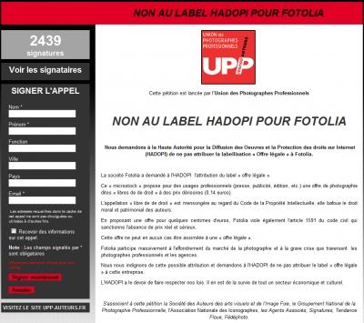 UPP HADOPI PETITION FOTOLIA .jpg