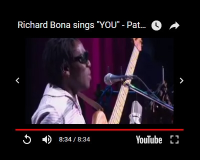 richard bona pat metheny group