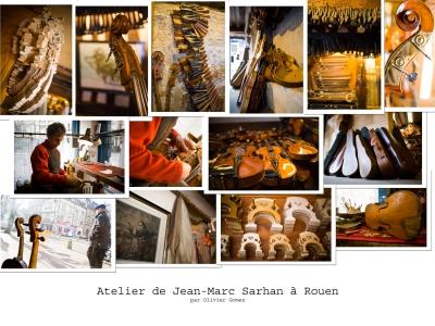 olivier gomez,photographe corse,luthier sarhan,rouen