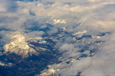olivier gomez,photographe corse,photos aeriennes,avion,nuages,montagnes