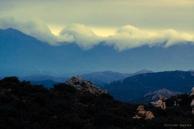 olivier gomez photographe corse nuages montagnes