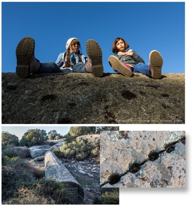 olivier gomez,photographe corse,salome,sacha,monolithe algajola