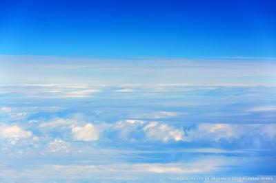 olivier gomez,photographe corse,avion,equipage,noel,ciel,nuages,vol paris calvi