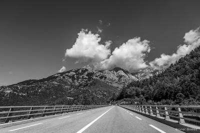 olivier gomez,photographe corse,route