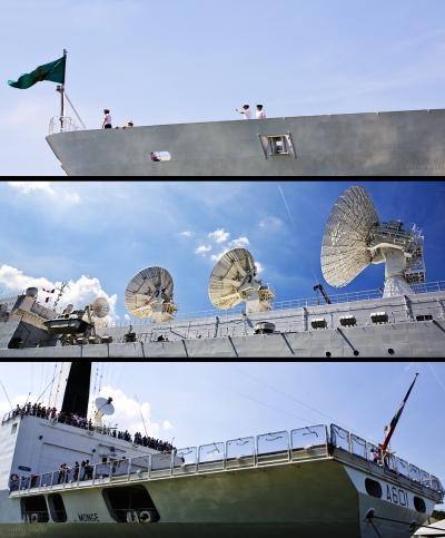 olivier gomez,photographe corse,armada 2013,rouen,monge,navire francais