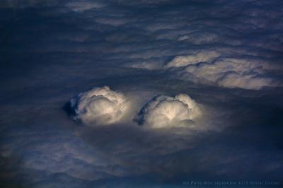 olivier gomez photographe corse nuage vue aérienne avion