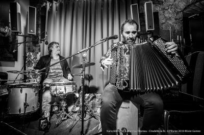 olivier gomez,photographe corse,jean paul moreau,concert,accordeon,batterie,citadella da fa,nano methivier