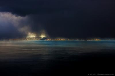 olivier gomez,phographe corse,photos aériennes,nuages,retour corse