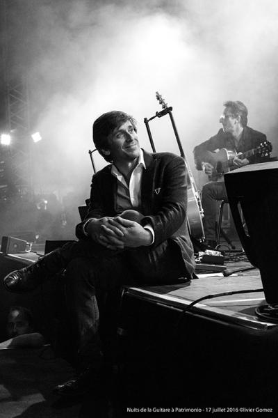 olivier gomez,photographe corse,thomas dutronc,nuits de la guitare,patrimonio,concert