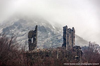 olivier gomez,photographe corse,vizzavona,ruines,fort de vaux