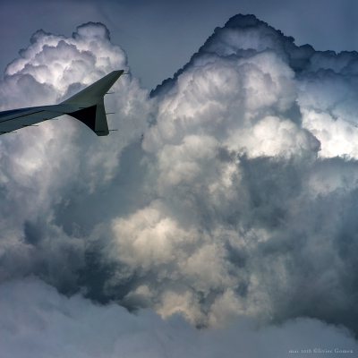 olivier gomez,photographe corse,nuages,vol